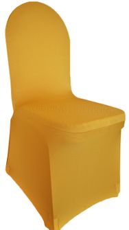 Spandex Banquet Chair Covers - Gold 62327 (1pc/pk)