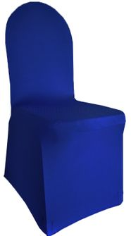 Spandex Banquet Chair Covers - Royal Blue 62322(1pc/pk)