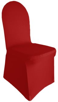 Spandex Banquet Chair Covers - AppleRed 62308(1pc/pk)