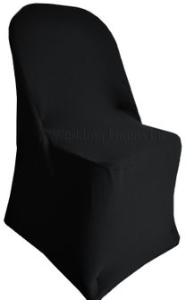 Spandex Folding Chair Covers - Black 62939 (1pc/pk)