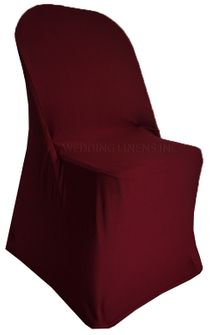 Spandex Folding Chair Covers - Burgundy 62910 (1pc/pk)