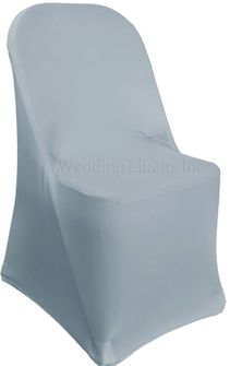 Spandex Folding Chair Covers - Dusty Blue 62903 (1pc/pk)