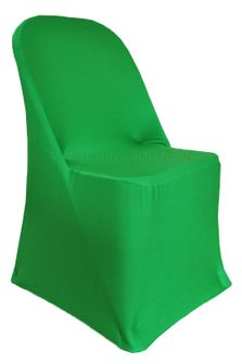 Spandex Folding Chair Covers - Emerald Green 62938 (1pc/pk)