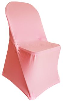 Spandex Folding Chair Covers - Pink 62905 (1pc/pk)