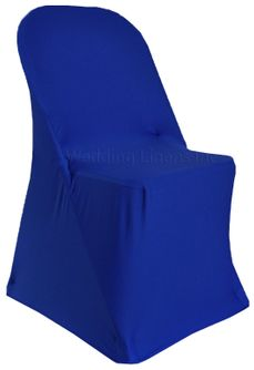 Spandex Folding Chair Covers - Royal Blue 62922(1pc/pk)