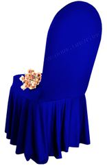 Spandex Skirt Chair Covers - Royal Blue 63222 (1pc/pk)