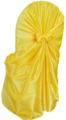 Taffeta Universal Chair Covers - Canary Yellow 61016(1pc/pk)