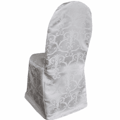 Versailles Chopin Damask Jacquard Polyester Banquet Chair Covers (11 Colors)