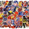 50 Piece Super Hero Stickers Collection