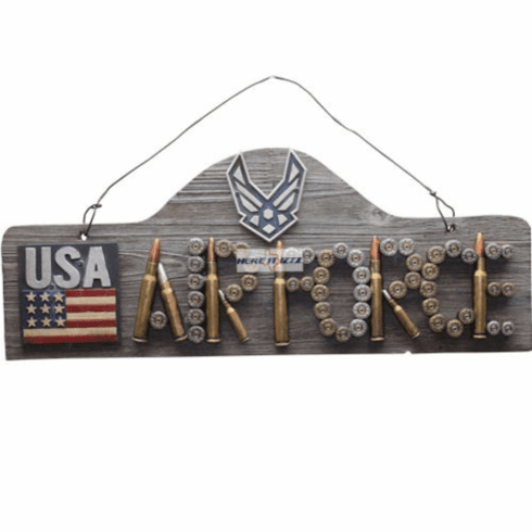 Air Force Bullet Wall Sign Plaque
