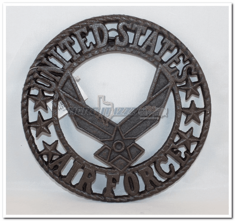 Air Force Cast iron Trivet Plate
