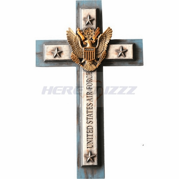 Air Force Eagle  Wall Cross
