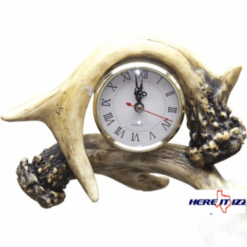 Antler Desk Clock