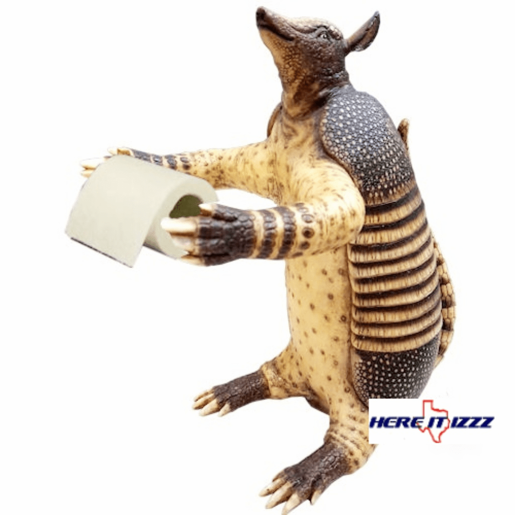 Armadillo Toilet Paper Holder