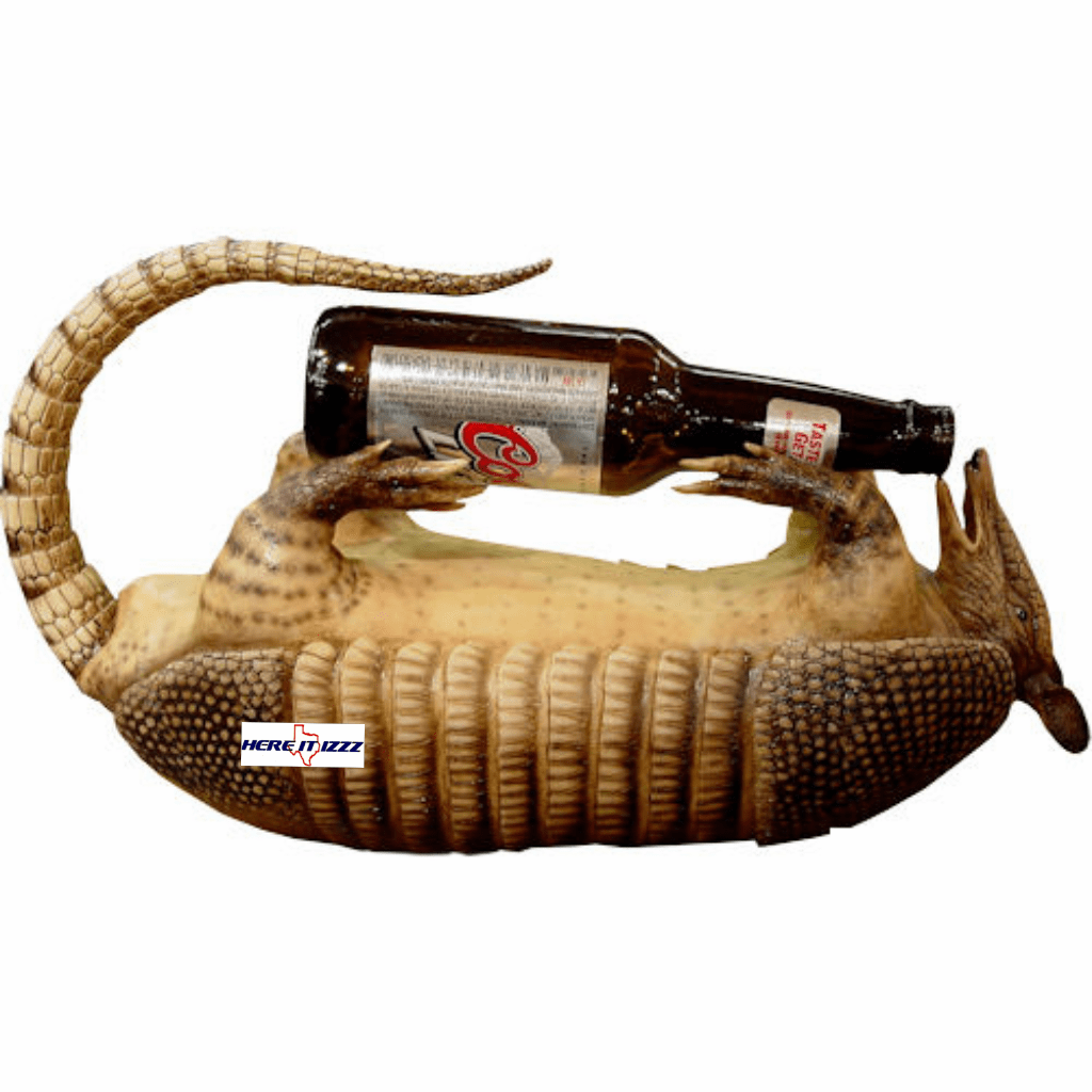 Armadillo Wine Bottle Holder