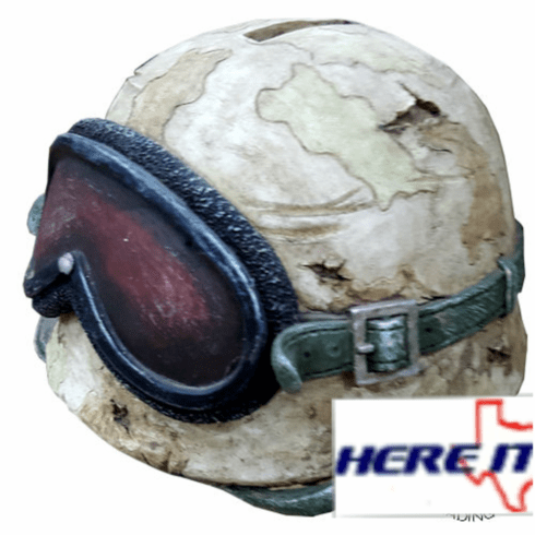 Army Helmet Piggy Bank