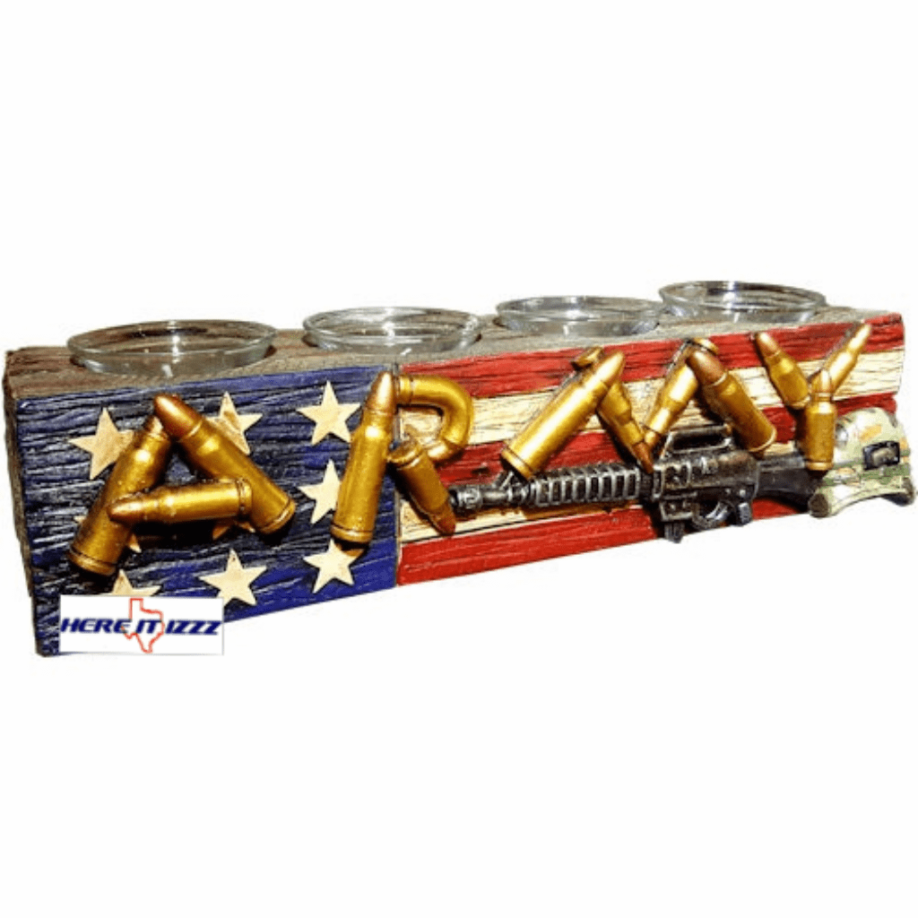 Army Us 4 Votive Candle Holder