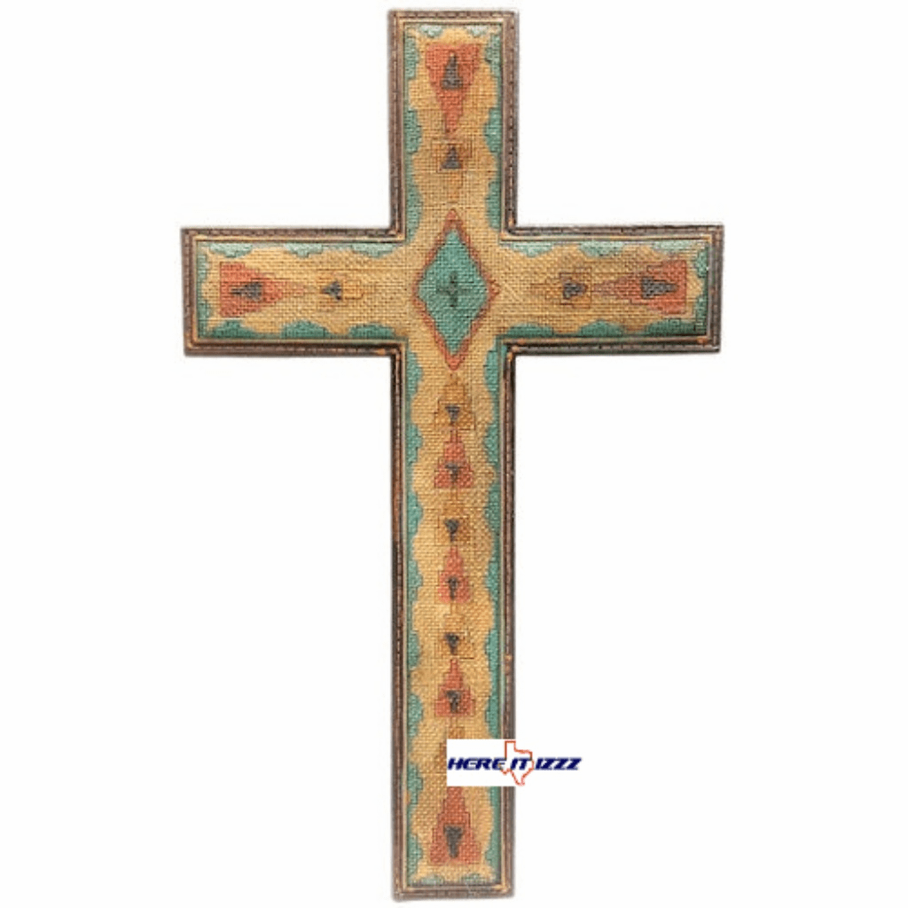 Aztec 16in Wall Cross