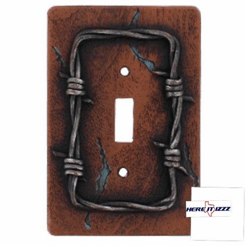 Barb Wire Single Wall Plate