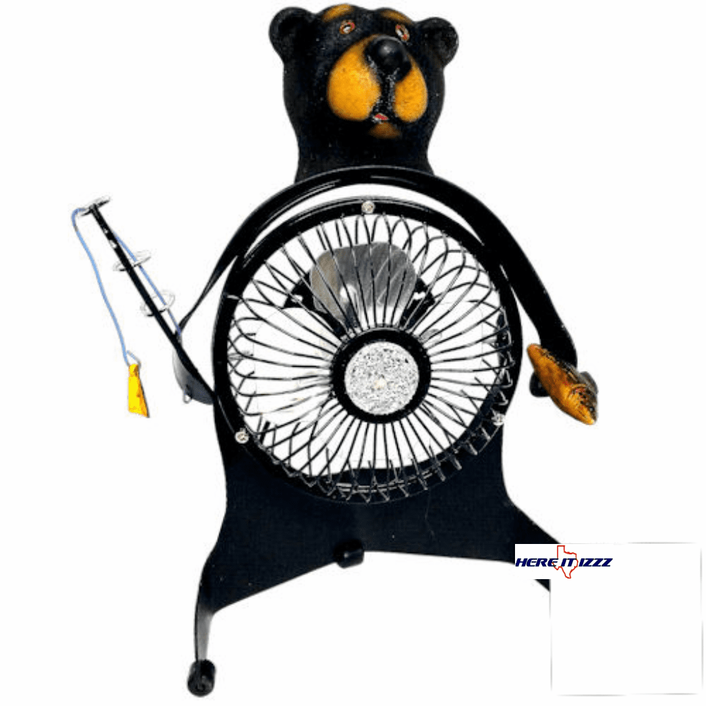 Black Bear Desk Or Table Fan