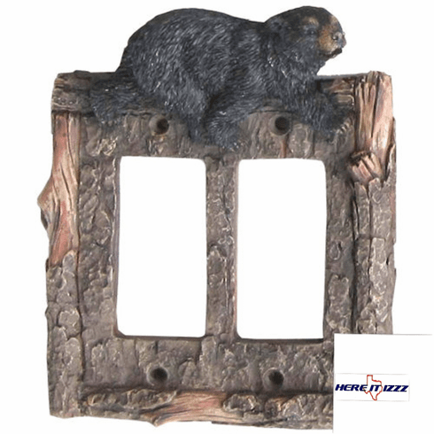 Black Bear  Double Rocker