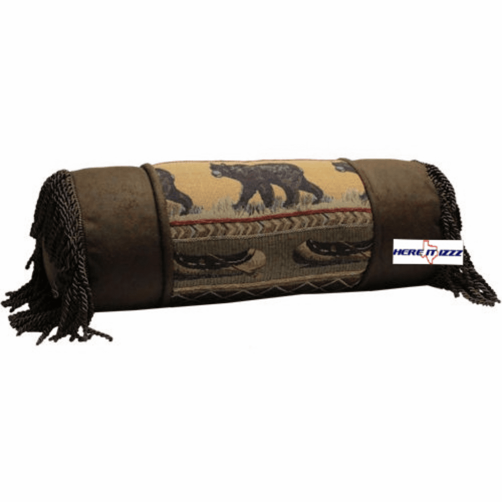 Black Bear Neck Pillow