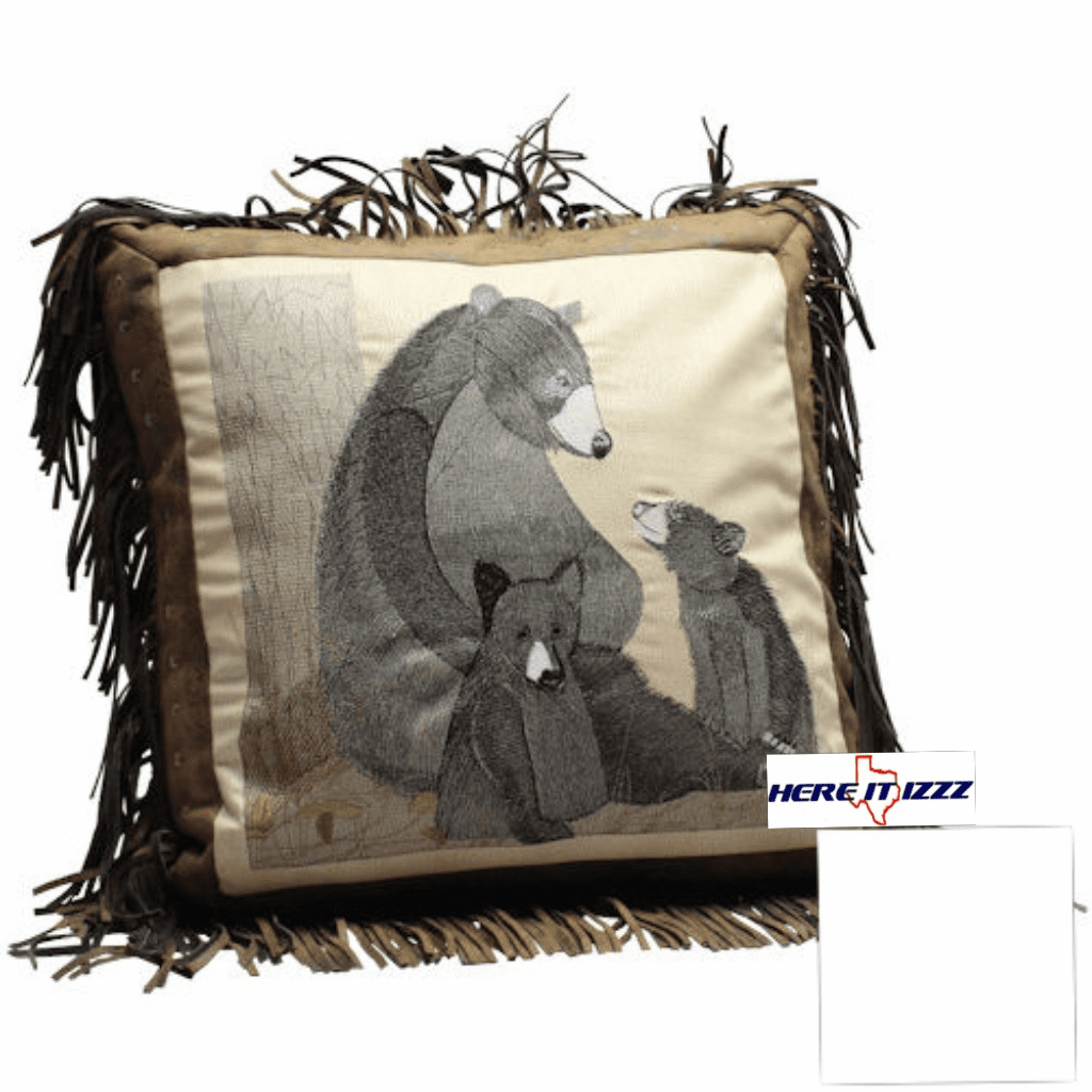 Black Bear Pillow