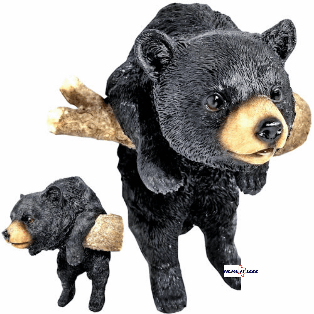 Black Bear Three Dimensional Wall Hanging