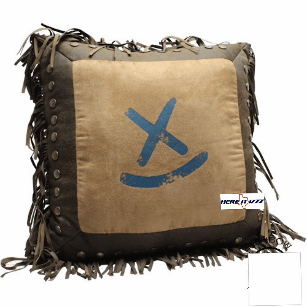 Branded X Throw Pillow