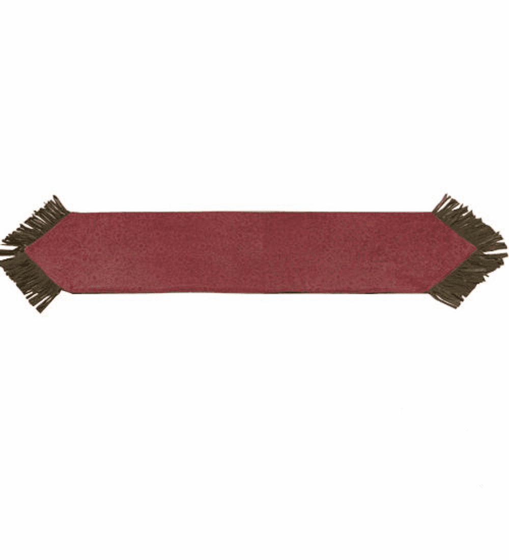 Burgundy Pueblo Table Runner