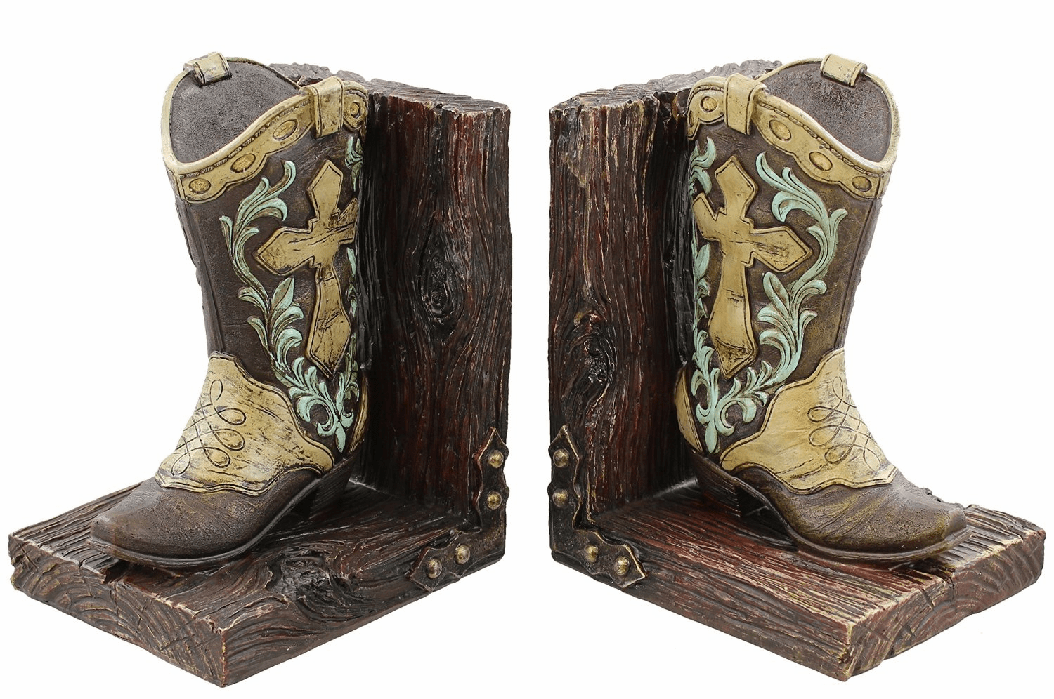 Cowboy Boot Bookends