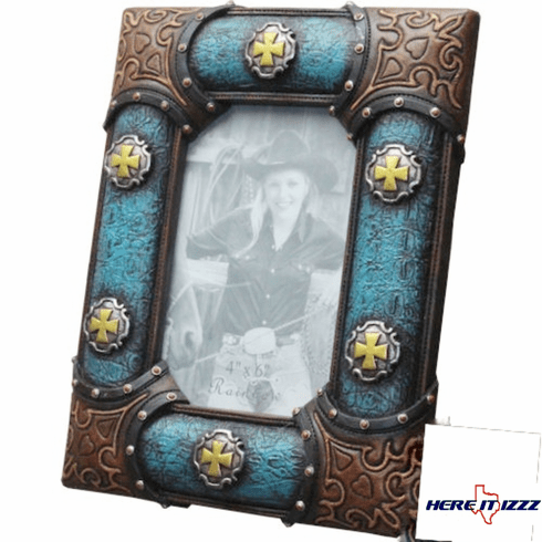 Cross  Concho 4x6 Frame