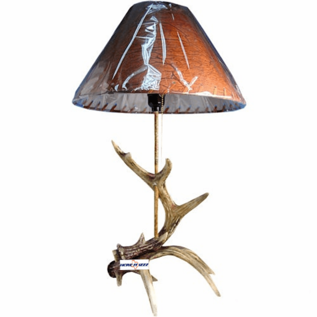 Deer Horn Antler Table Lamp