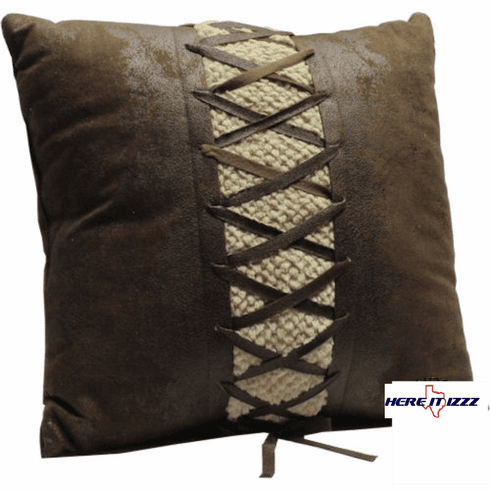 El Dorado Center Laced Pillow