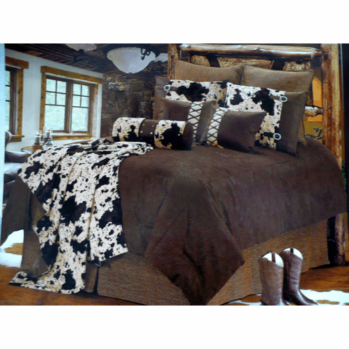 El Dorado Tooled Cowhide 5 Piece Queen
