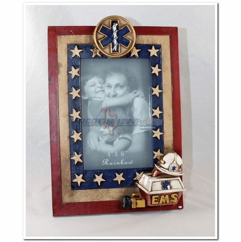 EMS Star of Life Medallion Photo Frame