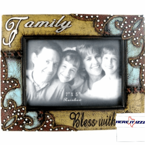 Family 7 x 5 Picture Frame