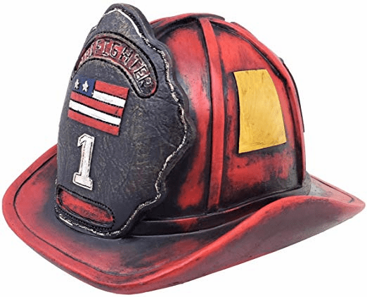 Firefighter Coin Bank
