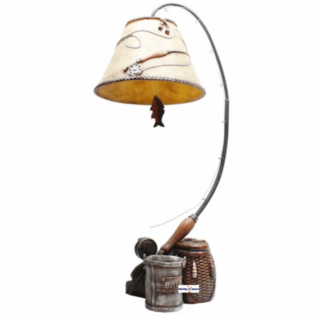 Fly Fishing Angler Sportsman Lamp