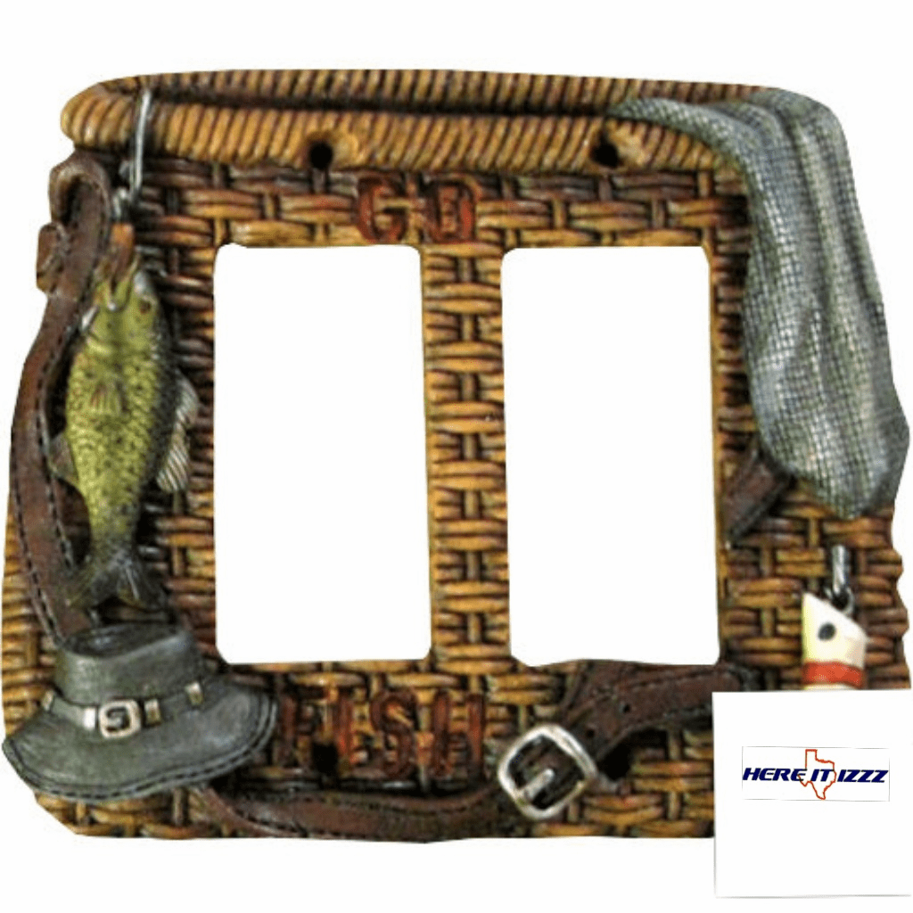 Fly Fishing Double Rocker Plate