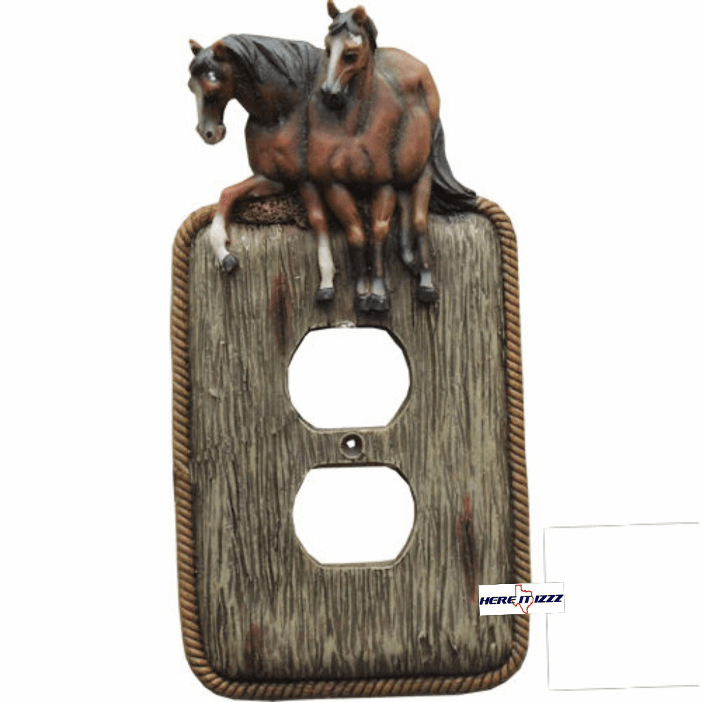 Galloping Horse Electrical Outlet Cover