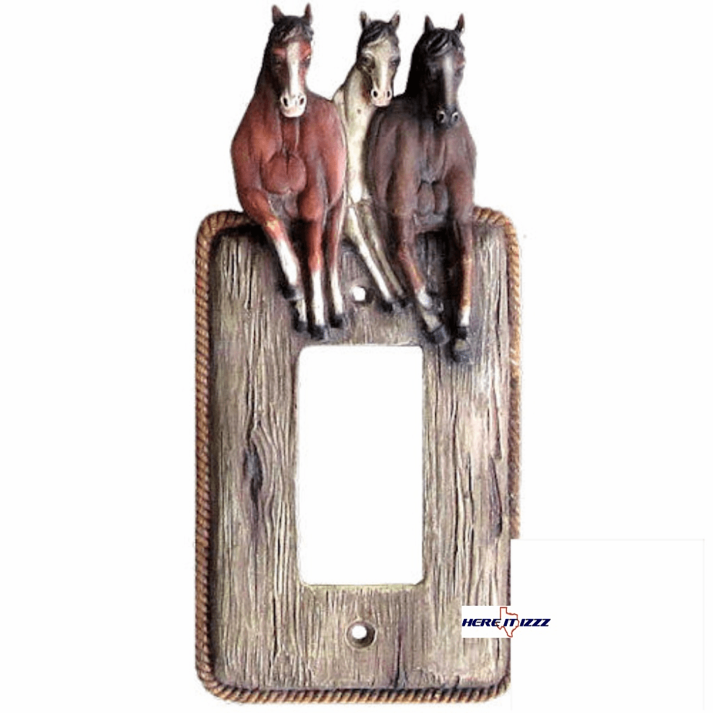 Galloping  Horse Single Decora Rocker