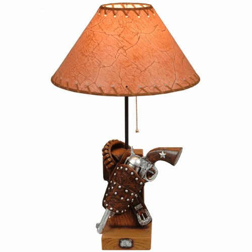 Gunbelt Table Lamp