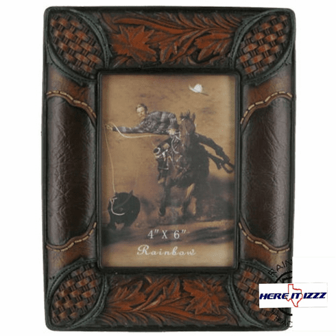 Laredo Leather 4x6 Frame