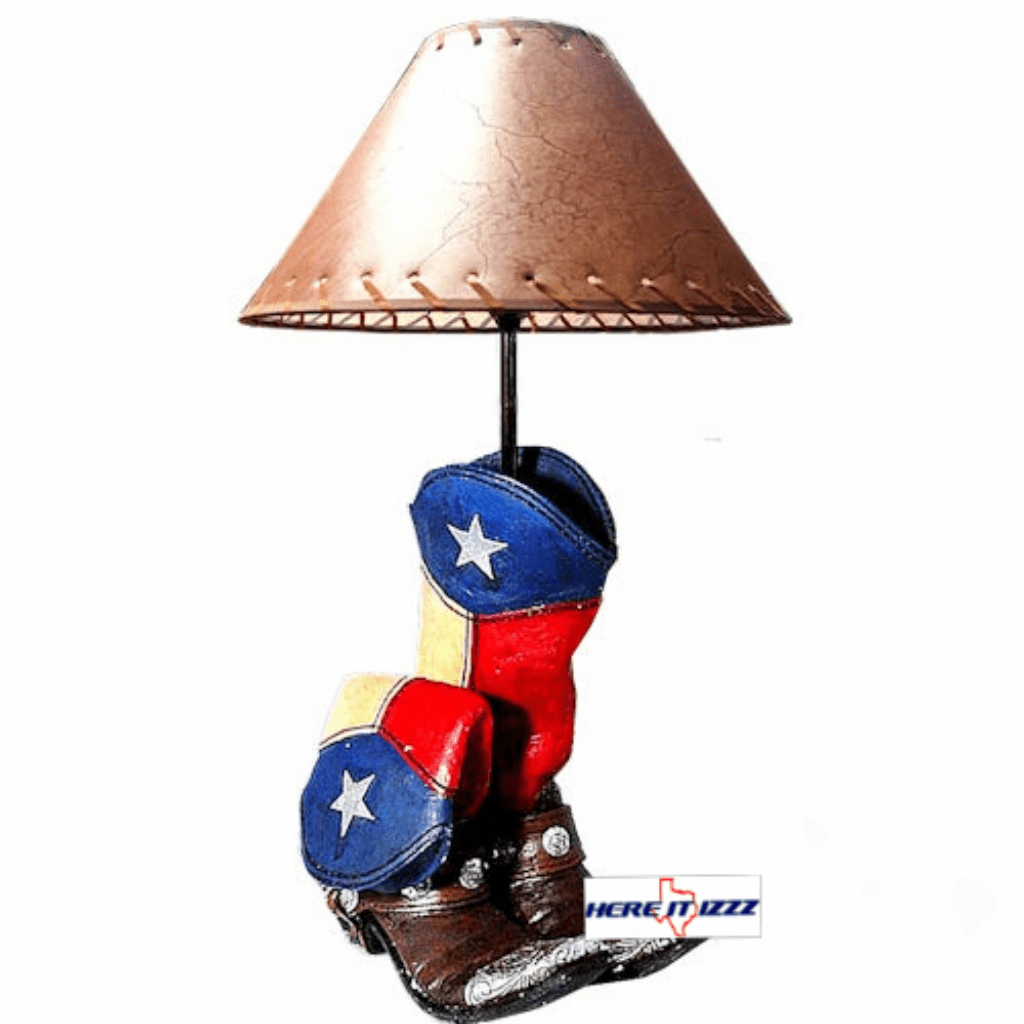 Lone Star Texas Boot Lamp