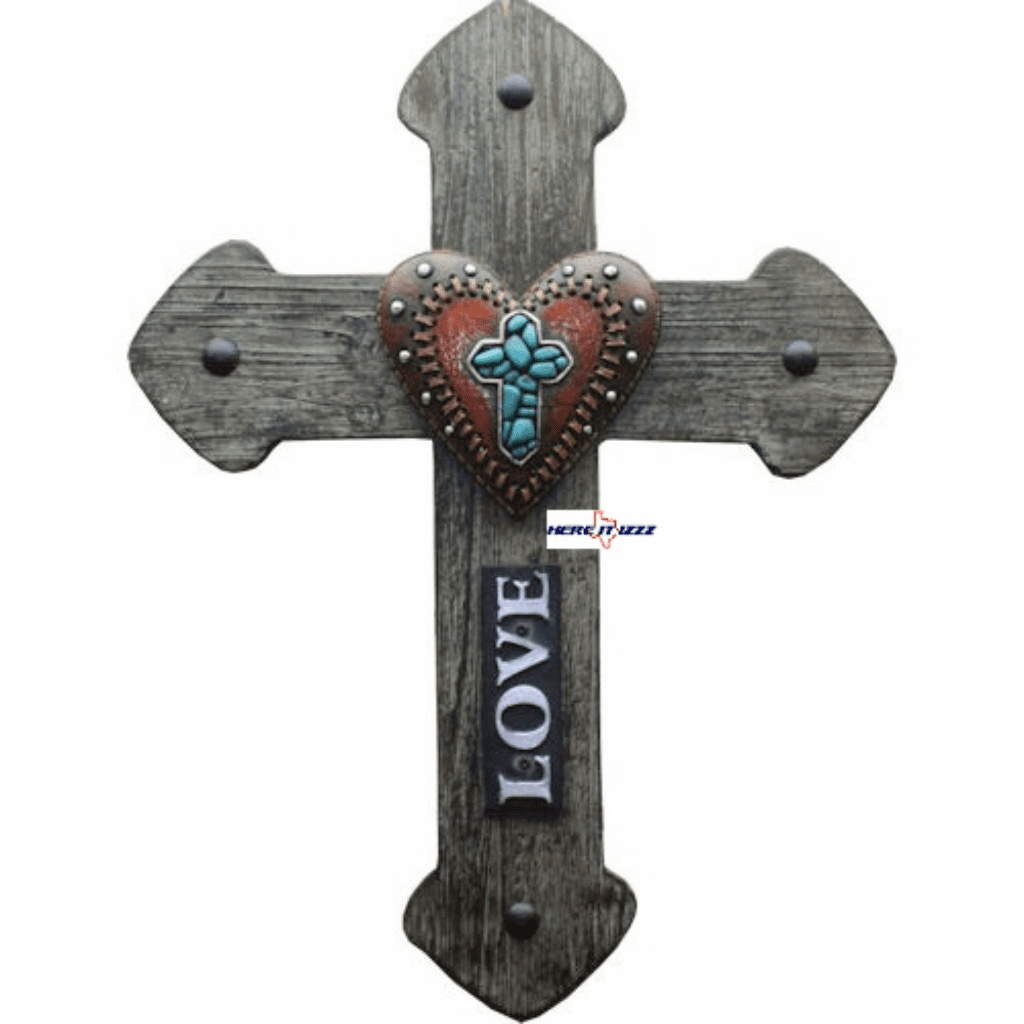 Love  Heart Wall Cross