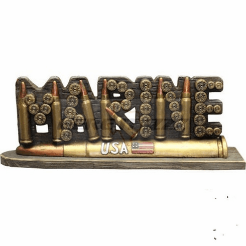Marines Bullet Self Standing Sign