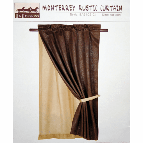 Monterrey  Curtain Chocolate