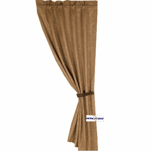 Monterrey Rustic Curtain Tan