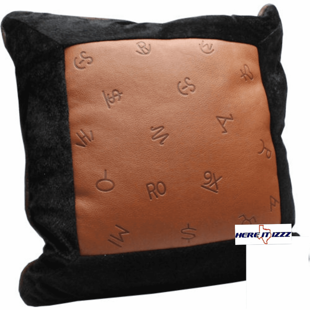 Multi Cattle Brands  Pillow